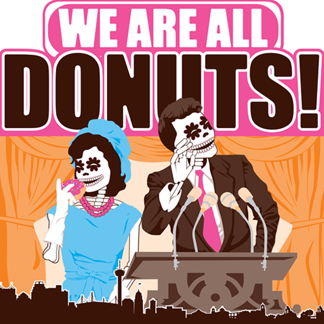 June 13: Freetail Brewing Co. is providing free jelly doughnuts. - FREETAIL BREWING CO.