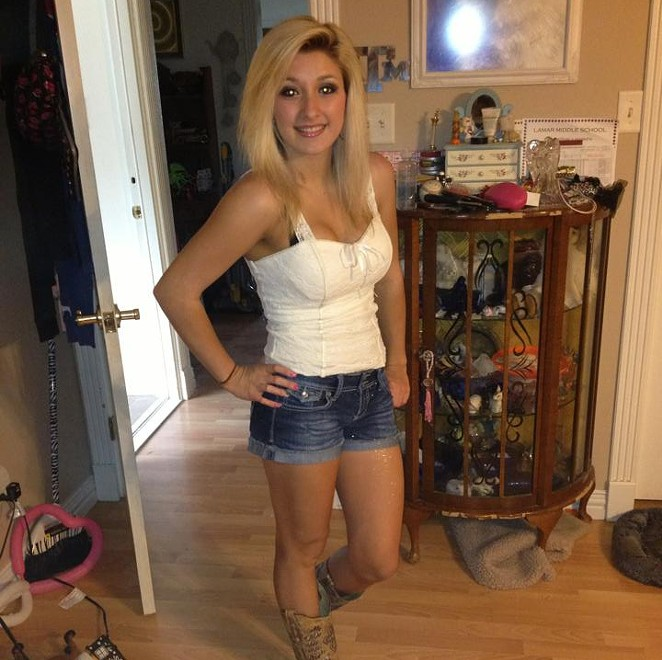 Lacie LaRose was shot and killed after a fight over a beer pong game last month. - PHOTO VIA FACEBOOK