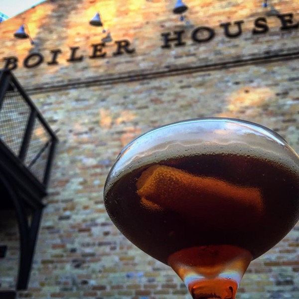 This cocktail? On that patio? We're so there. - BOILER HOUSE TEXAS GRILL & WINE GARDEN