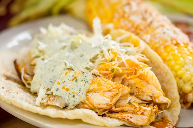 Fish tacos from Beto's Alt-Mex, one of the restaurants participating in Taco Week. - COURTESY PHOTO / TACO WEEK