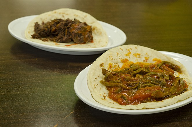 Week-long barbacoa specials are always a plus at La Bandera Molino. - SARA LUNA ELLIS