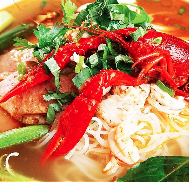 Who's ready for some crawfish pho? - @LACRAWFISHSANANTONIO/INSTAGRAM