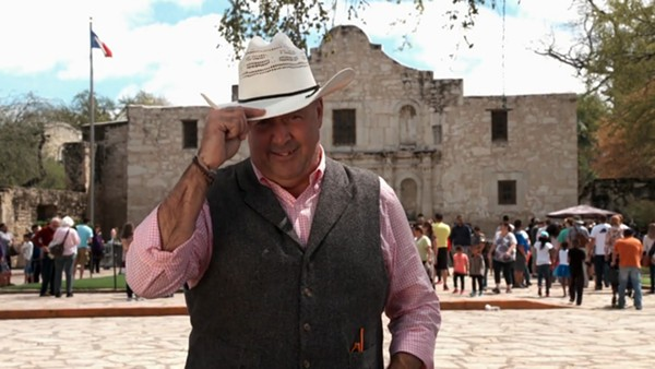 Zimmern tips his hat to the good food and people of San Anto - SCREENSHOT