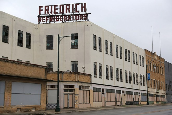 This portion of the Friedrich complex is not included in the lofts project. - PHOTO BY BEN OLIVO / SAN ANTONIO HERON