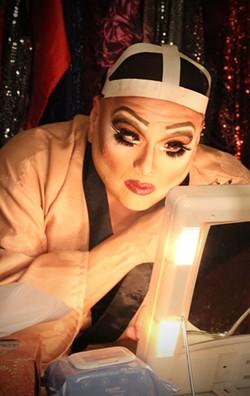 Hinojosa as Zaza in La Cage Aux Folles. - COURTESY