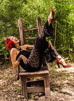 San Anto singer Patricia Vonne, unveils a new Spanish-only album at Olmos Bharmacy. - LINDA HUGHES