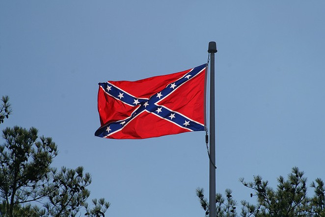 Dixe Flag Manufacturing Co. will no longer make or sell the Confederate flag. - VIA FLICKR USER CARL WAINWRIGHT