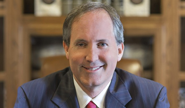 Texas Attorney General, the state's top law enforcement official, needs to read the damn U.S. Constitution. - COURTESY