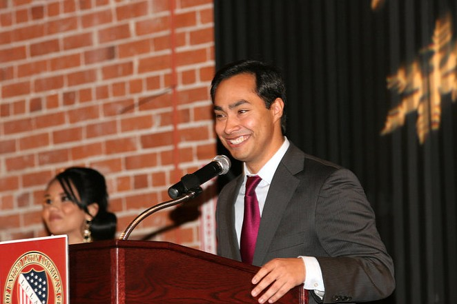 """Rep. Joaquin Castro called out Gov. Greg Abbott for """"pay to play"""" politics in a letter yesterday."""