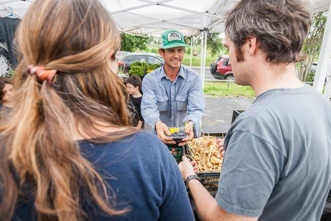 Get your veg on via Johnson's Backyard Garden. - SCOTT DAVID GORDON