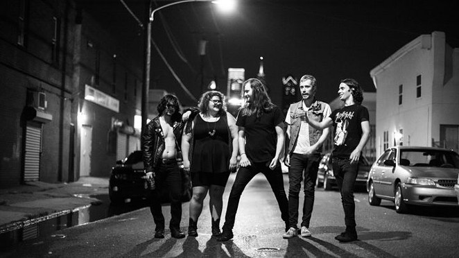 Philadelphia quintet Sheer Mag is more American than you are - COURTESY