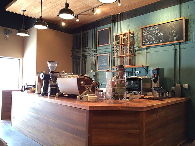 Coffe-hounds, rejoice – White Elephant features house-roasted beans. - COURTESY