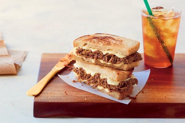 Starbucks' new BBQ Beef Brisket on Sourdough. - COURTESY