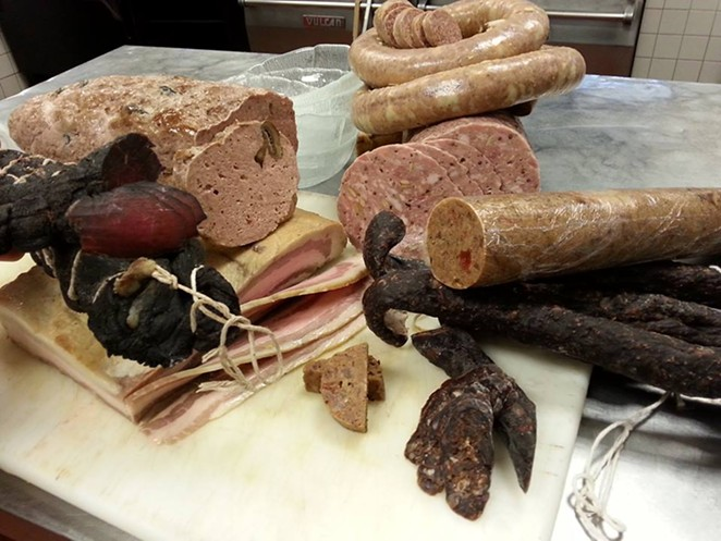 An assortment of cured goodies. - CHARC WEEK/FACEBOOK