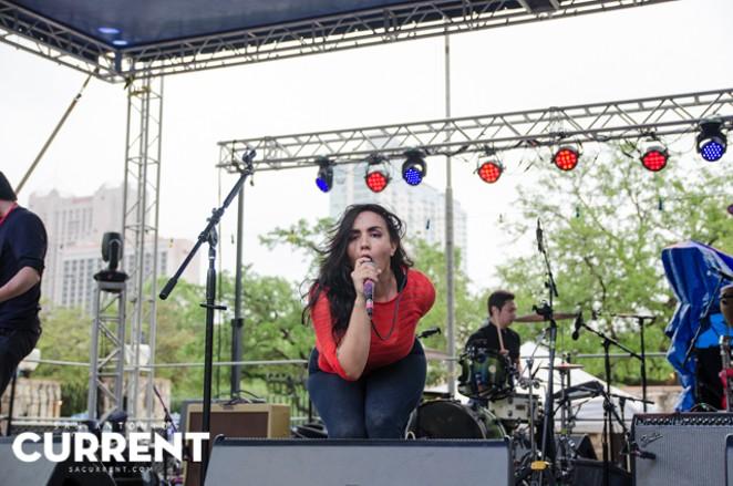 Nina Diaz at Maverick Music Festival 2015 - JAIME MONZON
