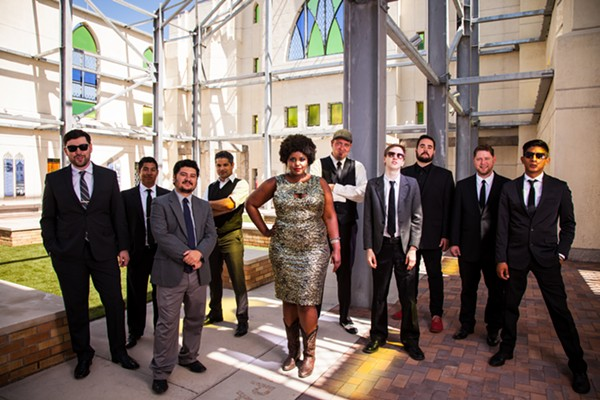The Suffers will perform at Échale on September 6 - DANIEL JACKSON
