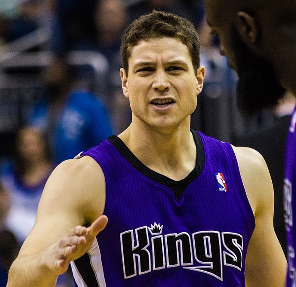 Jimmer Fredette signed with the San Antonio Spurs today. - WIKIMEDIA COMMONS