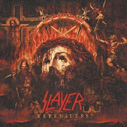 Slayer's (left to right) Tom Araya, Gary Holt, Paul Bostaph and Kerry King. - COURTESY