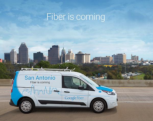 Google Fiber is coming to San Antonio. - GOOGLE FIBER