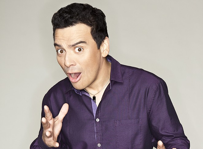 New and improved? Go see for yourself. Carlos Mencia says he thinks he's as funny as ever. - COURTESY