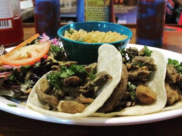 Viva Vergeria has added portabella chicharron tacos to the menu at its newly opened location. - VIVA VERGERIA/TWITTER