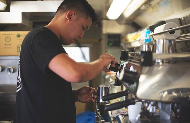 Indy Coffee Company's Alex Lee. - INDY COFFEE COMPANY/INSTAGRAM