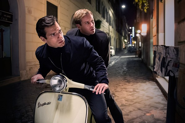 Henry Cavill (as Napoleon Solo) and Armie Hammer (as Ilya Kuryakin) in Guy Ritchie's reboot of The Man from U.N.C.L.E. - COURTESY