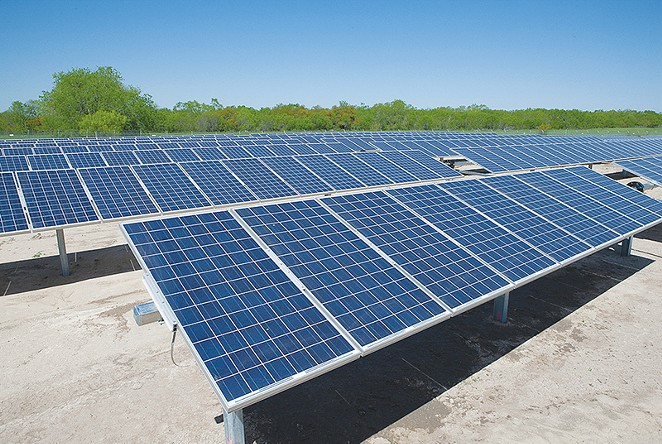 CPS Energy is betting on solar. - COURTESY