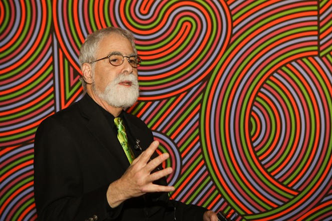 Former contemporary art curator for the San Antonio Museum of Art. - COURTEST