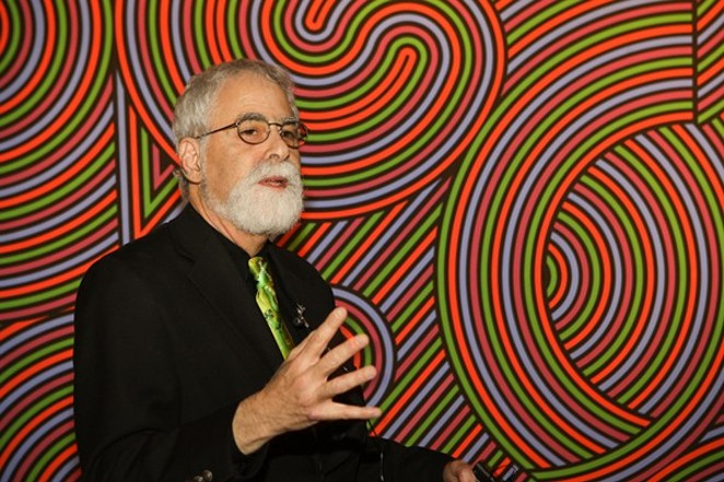 David Rubin former contemporary art curator at the San Antonio Museum of Art - COURTESY