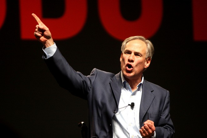 Gov. Greg Abbott introduced a new program today to further restrict access to abortions. - VIA FLICKR USER GAGE SKIDMORE