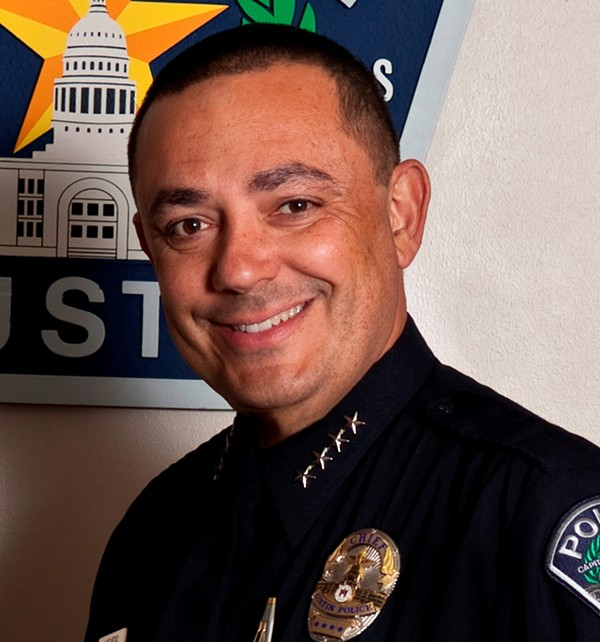 Austin Police Chief Art Acevedo withdrew from the race to become SAPD chief today. - VIA AUSTIN POLICE DEPARTMENT