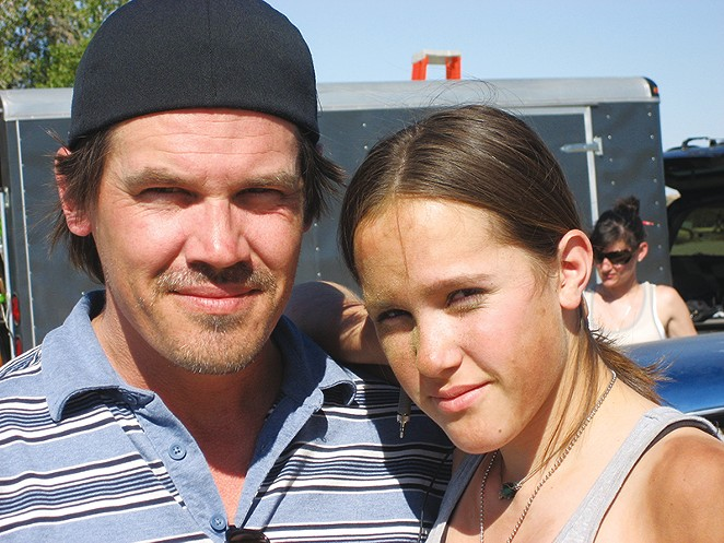 Josh and Edin Brolin - COURTESY