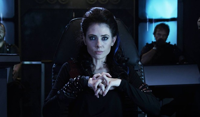 Adrienne Wilkinson as Captain Lexxa Singh in , a fan-made, crowdfunded film set in the Star Trek Universe. The Alamo City Film Festival is the film's Texas premiere. - COURTESY