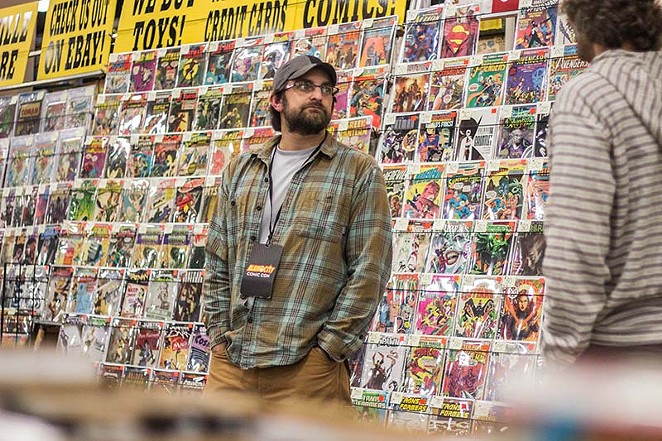 A comic vendor from the 2014 Alamo City Comic Con - RICK CANFIELD
