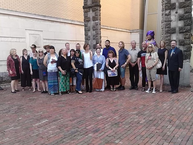 Meet the bright minds behind the 8th annual Luminaria. - PHOTO BY MARK REAGAN