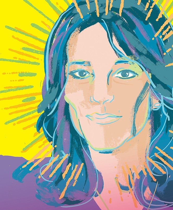 Jagged little pill: Dismissed as a kooky New Age sideshow, Marianne Williamson has emerged as one of the sharpest critics of both the Republican and Democratic parties. - EVAN SULT