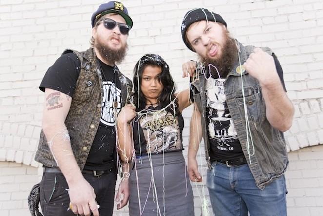 Denver trio Dirty Few - COURTESY