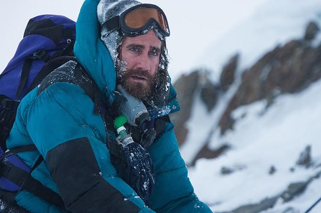 Jake Gyllenhaal as mountain guide Scott Fisher. - COURTESY
