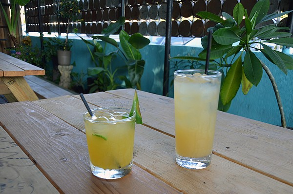 Alcoholic or not the tepache at La Botánica is the real deal. - JESSICA ELIZARRARAS