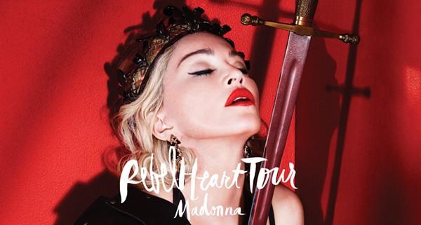 Madonna will perform in San Antonio on January 10, 2015. - MADONNA.COM