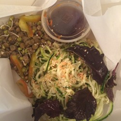 My lunch this afternoon. - JESSICA ELIZARRARAS