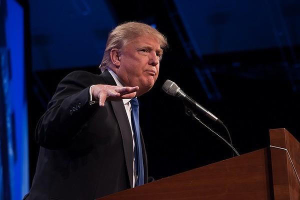 Donald Trump speaks English. - VIA FLICKR USER IPRIMAGES