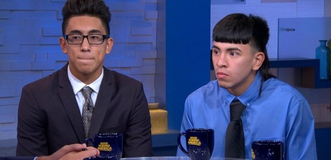 Michael Moreno (left) and Victor Rojas (right). - ABC NEWS/GOOD MORNING AMERICA