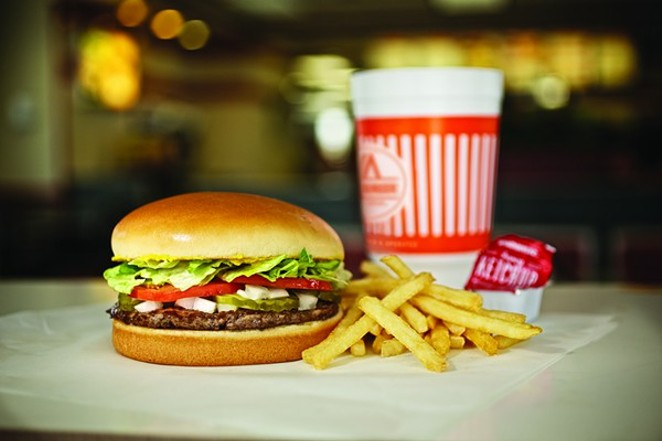 You've got two hours to help your fellow man by buying Whataburger on Tuesday night. - COURTESY