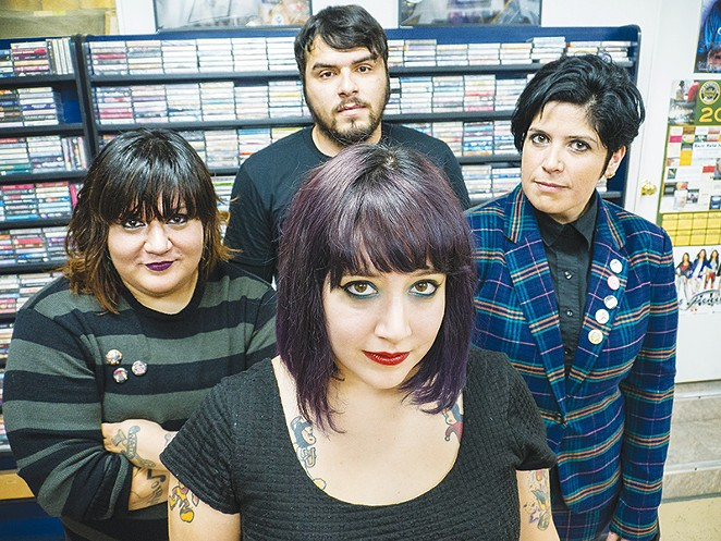 Voters picked FEA for Best Punk Band in the San Antonio Music Awards. - RAY TATTOOEDBOY