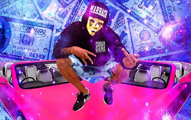 Welcome to the suburban hustle music of P2THEGOLDMA$K - COURTESY