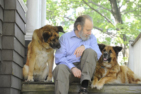 Dale Peterson shared what he's learned as biographer and friend of Jane Goodall. - COURTESY