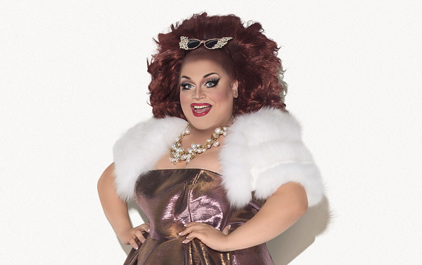 Ru Paul Drag Race's Ginger Minj stars as Dr. Frank N. Furter in this year's Woodlawn Theatre production of The Rocky Horror Show - COURTESY