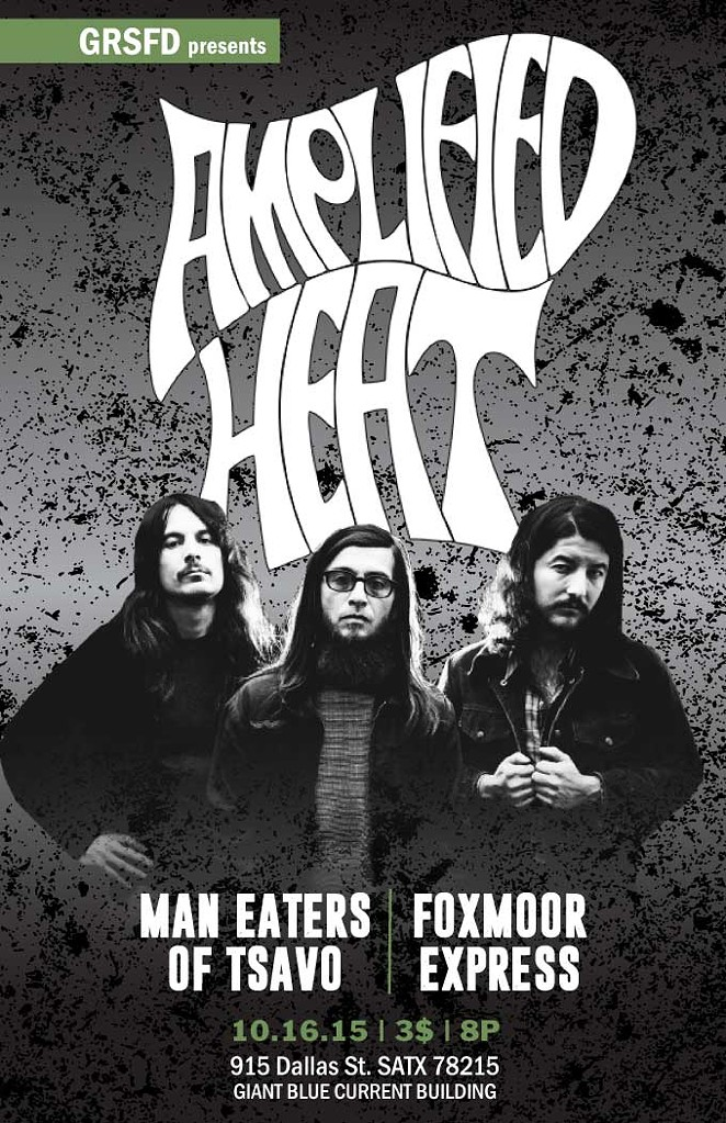 Amplified Heat inaugurates the Current's  GRSFD concert series